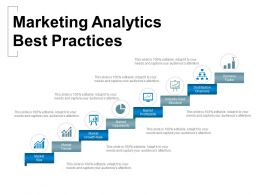 Marketing Analytics Best Practices Powerpoint Slide