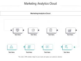 Marketing Analytics Cloud Ppt Powerpoint Presentation Ideas Example Introduction Cpb
