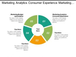 Marketing Analytics Consumer Experience Marketing Budget Optimization Marketing Measurement Cpb