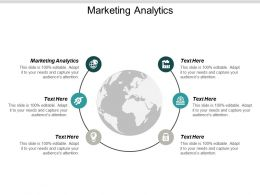 Marketing Analytics Ppt Powerpoint Presentation Infographic Template Elements Cpb