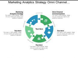 Marketing Analytics Strategy Omni Channel Communications Network Management Cpb