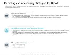 Marketing And Advertising Strategies For Growth Pitch Deck Raise Seed Capital Angel Investors Ppt Professional