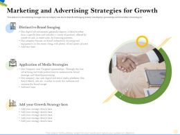 Marketing And Advertising Strategies For Growth Your Strategy Ppt Powerpoint Presentation Tips