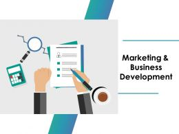 Marketing And Business Development Ppt Outline Pictures