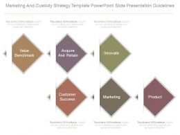 Marketing And Custody Strategy Template Powerpoint Slide Presentation Guidelines