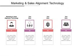 Marketing And Sales Alignment Technology Ppt Powerpoint Presentation Styles Background Images Cpb