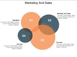 Marketing And Sales Ppt Powerpoint Presentation Show Maker Cpb