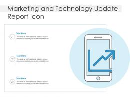 Marketing And Technology Update Report Icon