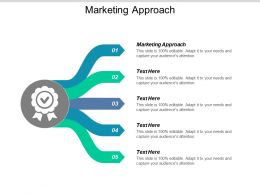 Marketing Approach Ppt Powerpoint Presentation Gallery Graphic Tips Cpb