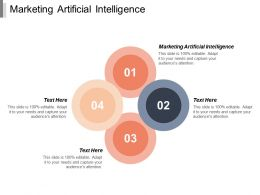 Marketing Artificial Intelligence Ppt Powerpoint Presentation Portfolio Microsoft Cpb