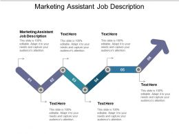 Marketing Assistant Job Description Ppt Powerpoint Presentation File Display Cpb
