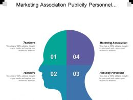 Marketing Association Publicity Personnel Contributes Highly Flexibility Operations