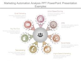 Marketing Automation Analysis Ppt Powerpoint Presentation Examples