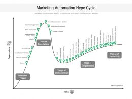 Marketing Automation Hype Cycle