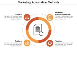Marketing Automation Methods Ppt Powerpoint Presentation Summary Background Image Cpb