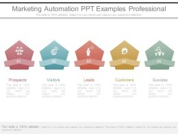Marketing Automation Ppt Examples Professional