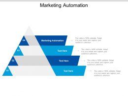 Marketing Automation Ppt Powerpoint Presentation Ideas Topics Cpb