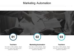 Marketing Automation Ppt Powerpoint Presentation Infographic Template Aids Cpb