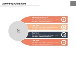 Marketing Automation Ppt Powerpoint Presentation Infographics Example Cpb