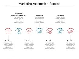 Marketing Automation Practice Ppt Powerpoint Presentation Infographic Cpb
