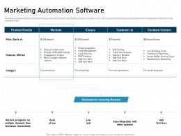 Marketing Automation Software Micro Targets Tools Powerpoint Presentation Outfit