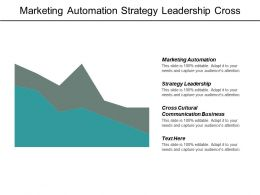 Marketing Automation Strategy Leadership Cross Cultural Communication Business Cpb