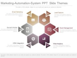 Marketing Automation System Ppt Slide Themes