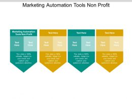 Marketing Automation Tools Non Profit Ppt Powerpoint Presentation Example Cpb