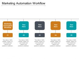 Marketing Automation Workflow Ppt Powerpoint Presentation Gallery Files Cpb
