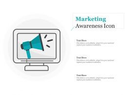Marketing Awareness Icon