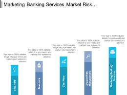 Marketing Banking Services Market Risk Management Corporate Financing Cpb