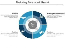 Marketing Benchmark Report Ppt Powerpoint Presentation Slides Graphics Template Cpb