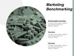 Marketing Benchmarking Ppt Powerpoint Presentation Infographic Template Aids Cpb