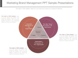 marketing brand management ppt sample presentations