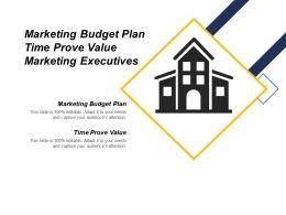 Marketing Budget Plan Time Prove Value Marketing Executives Cpb
