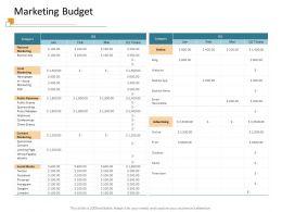 Marketing Budget Print M3410 Ppt Powerpoint Presentation Gallery Graphics Design