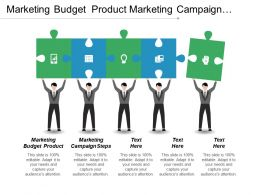 Marketing Budget Product Marketing Campaign Steps Cpb