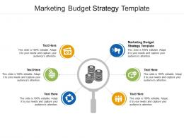 Marketing Budget Strategy Template Ppt Powerpoint Presentation Styles Deck Cpb