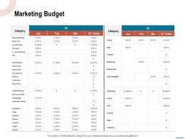 Marketing Budget Webinars Ppt Powerpoint Presentation Portfolio Gridlines