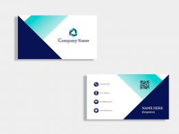 Marketing Business Card Design Template