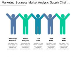 Marketing Business Market Analysis Supply Chain Logistics Strategy Cpb