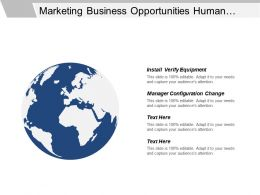 Marketing Business Opportunities Human Resource Functions Action Plan