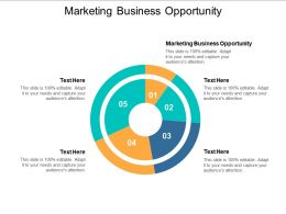Marketing Business Opportunity Ppt Powerpoint Presentation Styles Slides Cpb