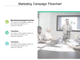 Marketing Campaign Flowchart Ppt Powerpoint Presentation Icon Inspiration Cpb