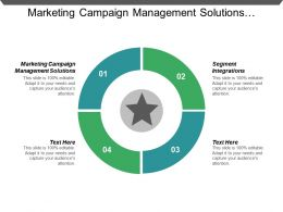 Marketing Campaign Management Solutions Segment Integrations B2b Lead Generation Cpb