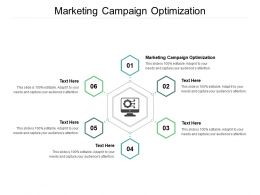 Marketing Campaign Optimization Ppt Powerpoint Presentation Summary Layout Cpb
