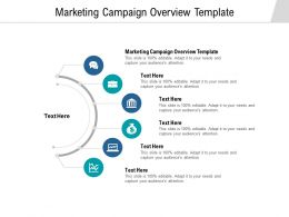 Marketing Campaign Overview Template Ppt Powerpoint Presentation Icon Guidelines Cpb