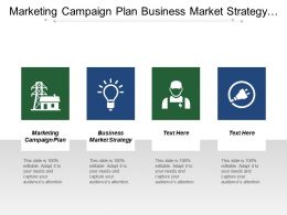 Marketing Campaign Plan Business Market Strategy Relationship Management Cpb