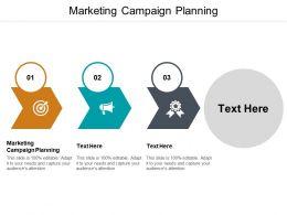 Marketing Campaign Planning Ppt Powerpoint Presentation Portfolio Styles Cpb
