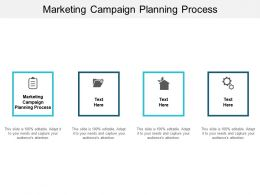 Marketing Campaign Planning Process Ppt Powerpoint Presentation Infographic Template Designs Download Cpb